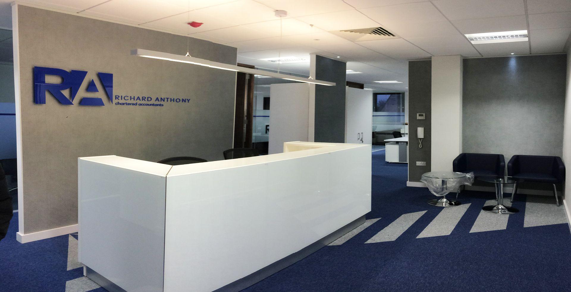 Gadd House Portfolio Accounting Office Office Interiors