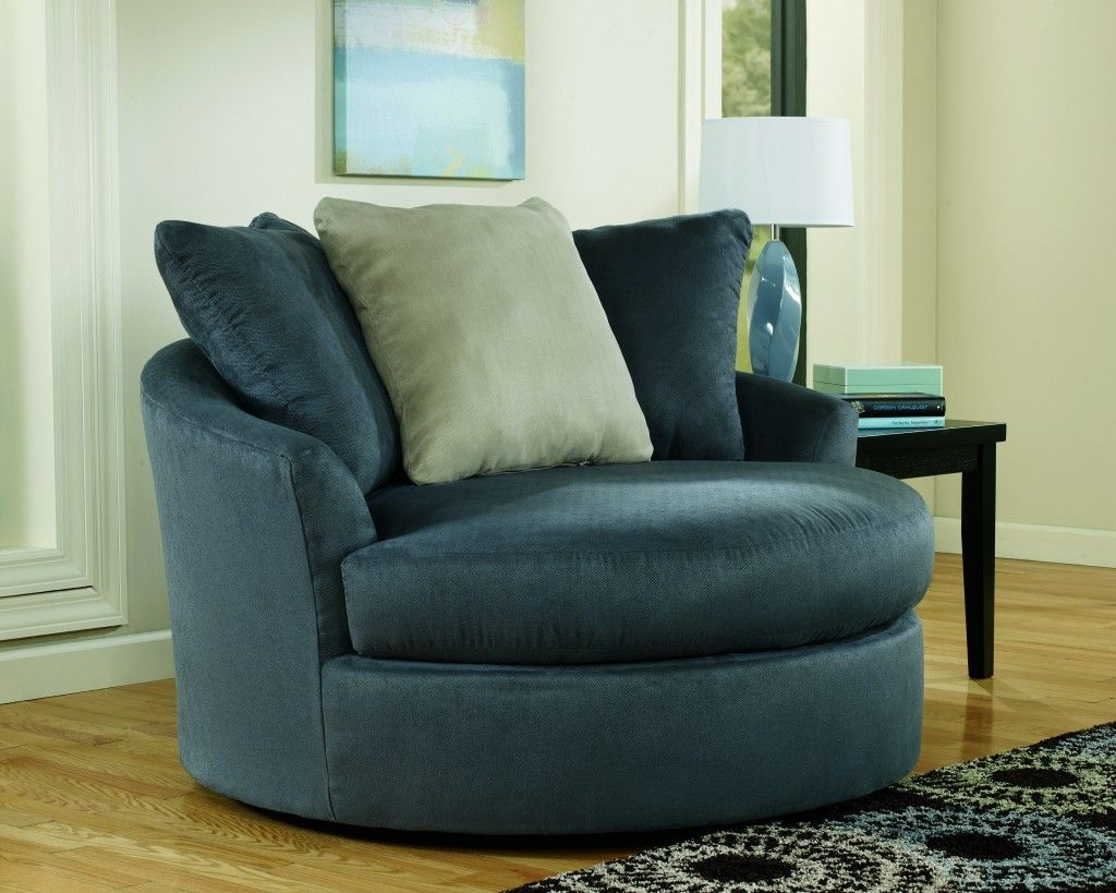 Swivel Chairs For Living Room: Magnificent Green Blue