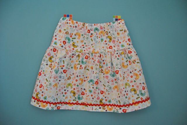 aeno: Easy Peasy skirt - tutorial