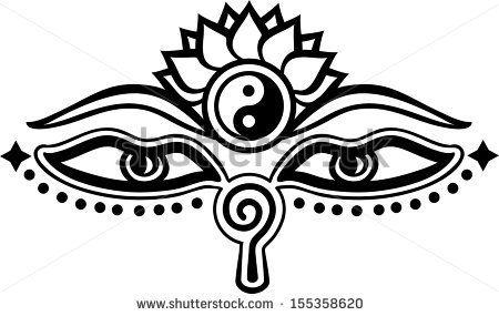 Buddhist Symbols Stock Photos, Buddhist Symbols Stock