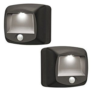 Awesome Mr. Beams MB522 Wireless Battery Operated Indoor/Outdoor Motion Sensing LED  Step