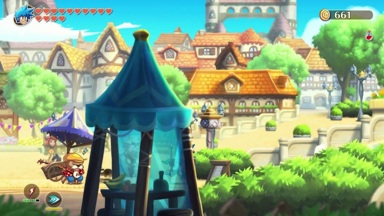 Monster Boy and the Cursed Kingdom E3 2018 Trailer Premiere