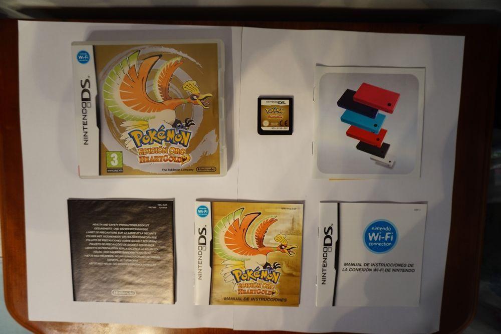 Pokemon edicion Oro #Heartgold #nintendo #ds nds lite idioma español ESP |  Fotoğraf