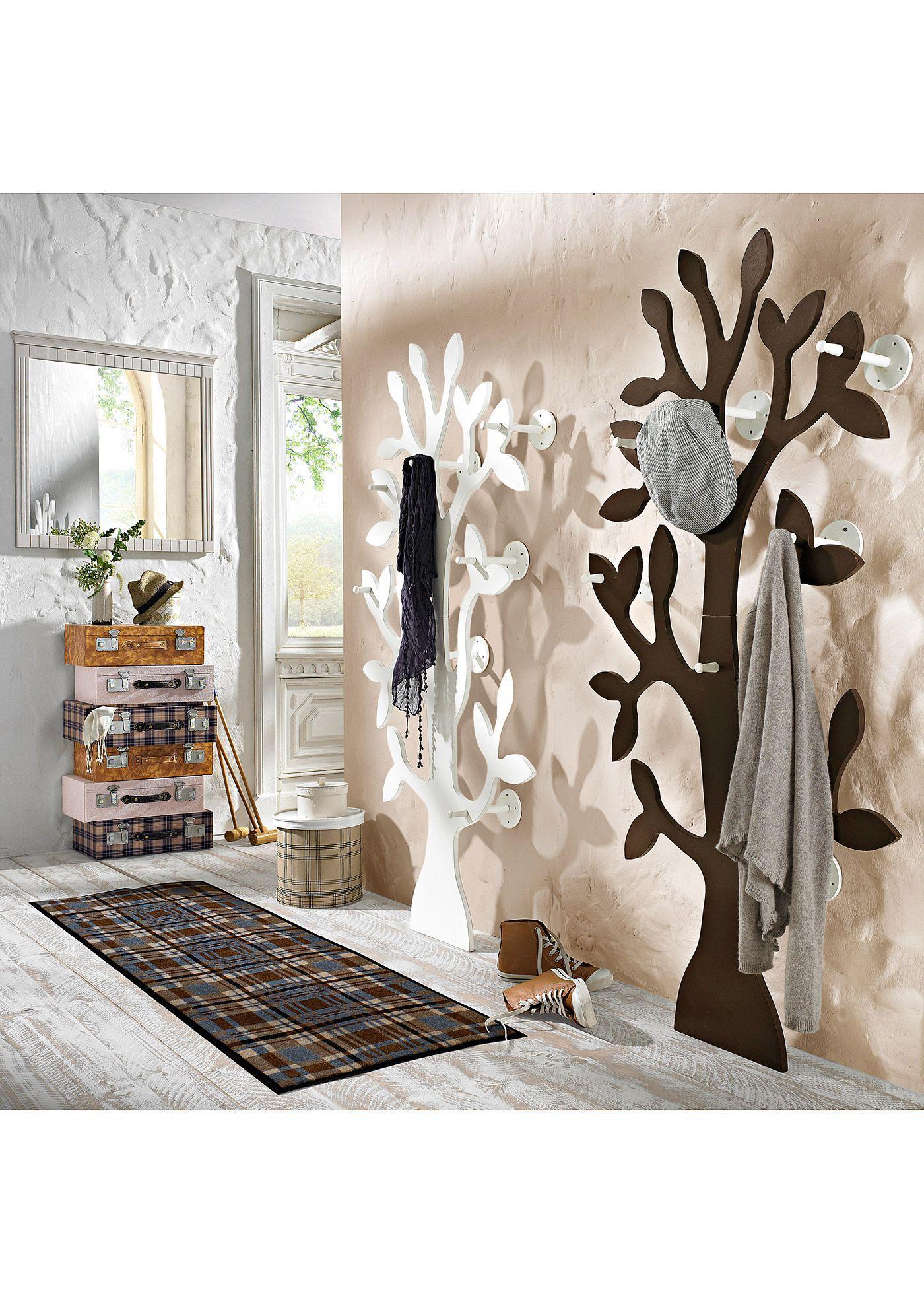 Die Garderobe Im Baum Design Ist Formschon Und Aussergewohnlich Weiss In 2020 Home Decor Home Decor Furniture Decor