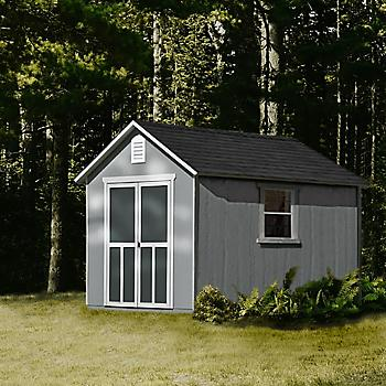 Handy Home Products Meridian Wood Shed 8 X 12 Bjs Wholesale Club In 2020 Shed Shed Storage Bjs Wholesale