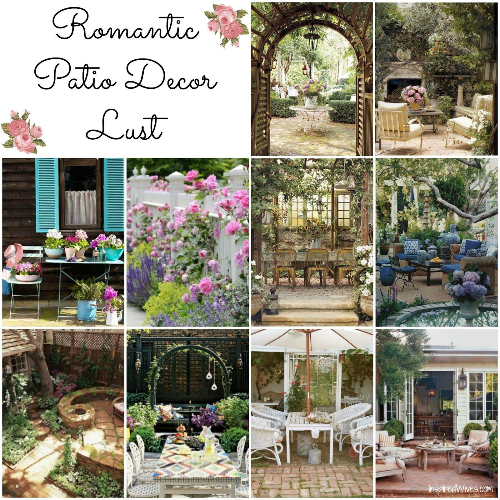 romanticPatio Furniture   Romantic Patio Decor Lust ... on Romantic Patio Ideas id=41186