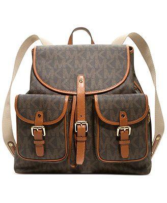 MICHAEL Michael Kors Handbag, Jet Set Item Signature Backpack