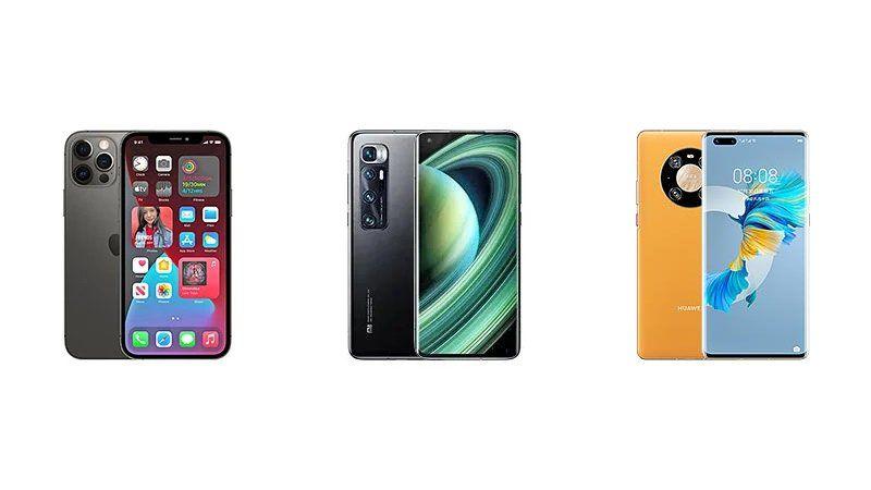 Iphone 12 Pro Max Vs Xiaomi Mi 10 Ultra Vs Huawei Mate 40 Pro Specs Comparison Blog Iphone Latest Iphone Huawei