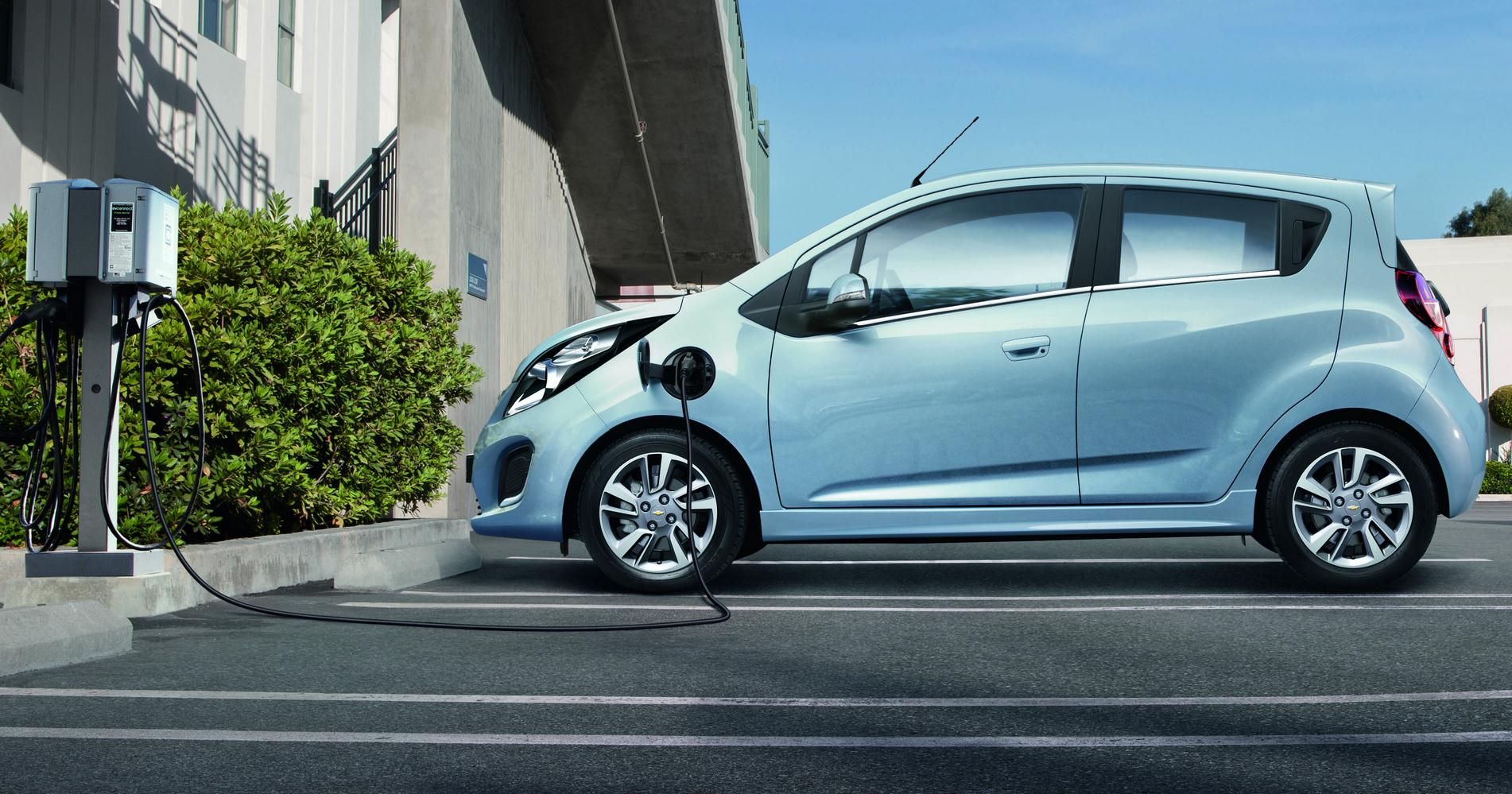 Chevrolet Eco Friendly Spark Ev To Get First European Introduction