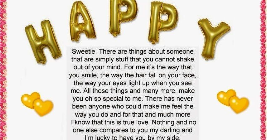 Long Birthday Love Letter to Boyfriend Sample | love quote