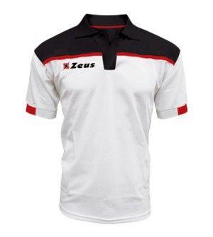 Fehér-Fekete-Piros Zeus Negativo Rövid Ujjú Póló kényelmes, lágy, klasszikus viselet. Kopásálló, könnyen száradó, puha, strapabíró a műszálnak köszönhetően. Ideális választás, az egyszerű klasszikus viselethez, a teljes korosztály számára. Színkombinációk a ingpóló felső részénél. Fehér-Fekete-Piros Zeus Negativo Rövid Ujjú Póló 10 méretben és további 7 színkombinációban érhető el.