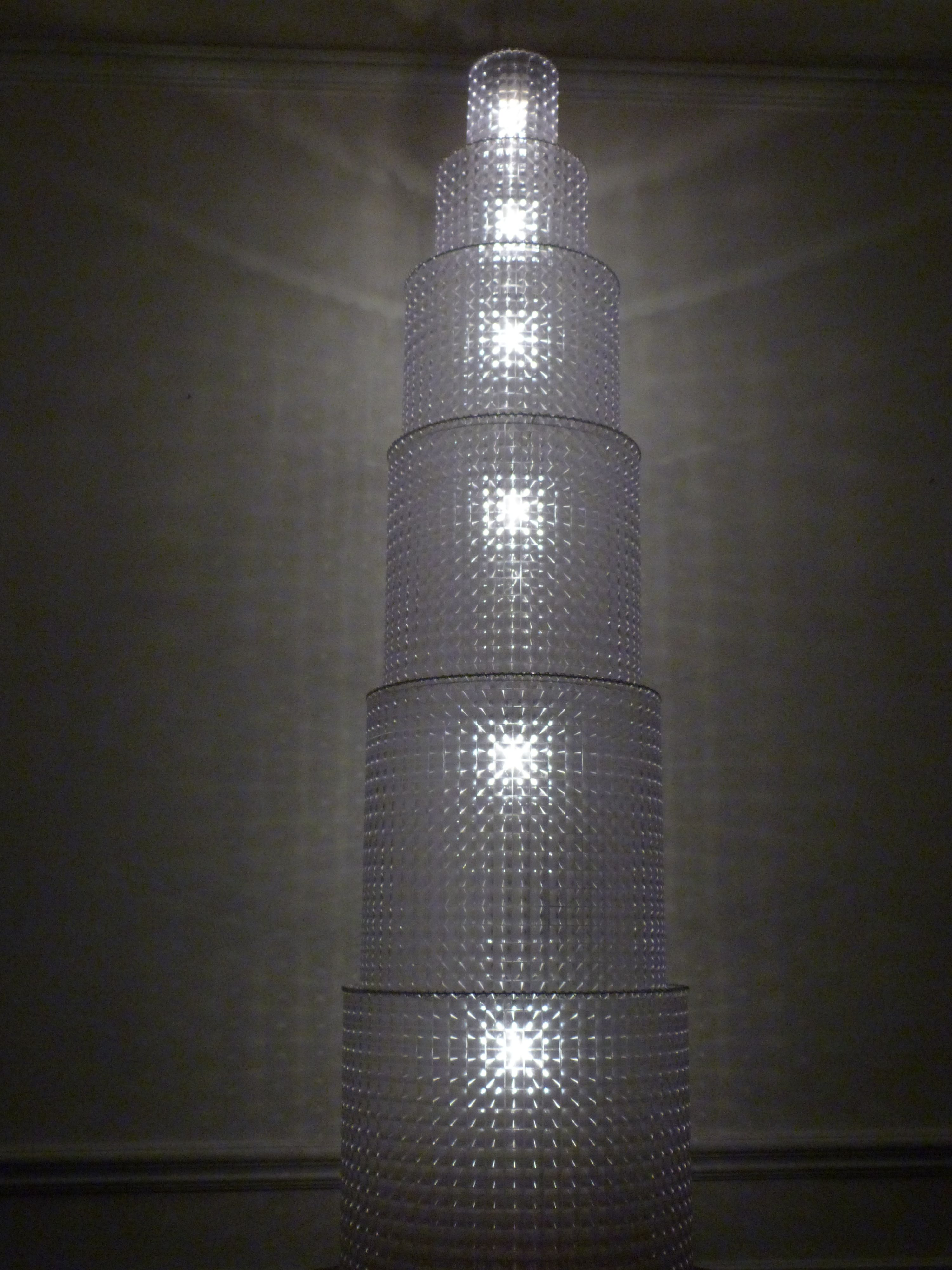 Pyramide de lumières