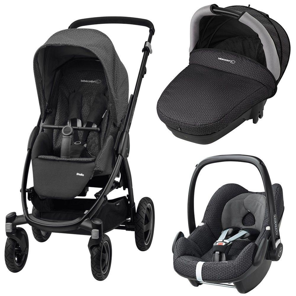 trio stella compacte pebble de b b confort maxi cosi baby strollers baby lux baby