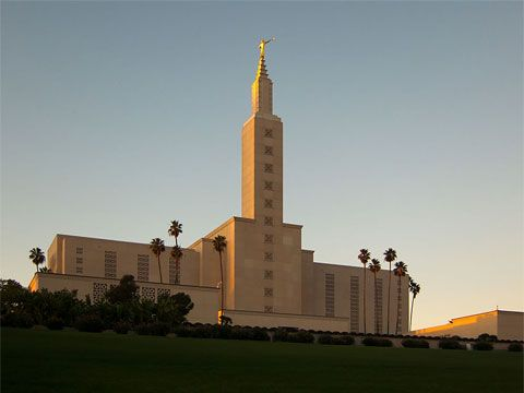 Los Angeles California Temple Los Angeles Los Angeles California California