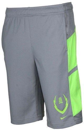 2dda5ef8b58 Nike Big Boys  (8-20) Dri-Fit Football Gear Up Training Shorts-Gray ...