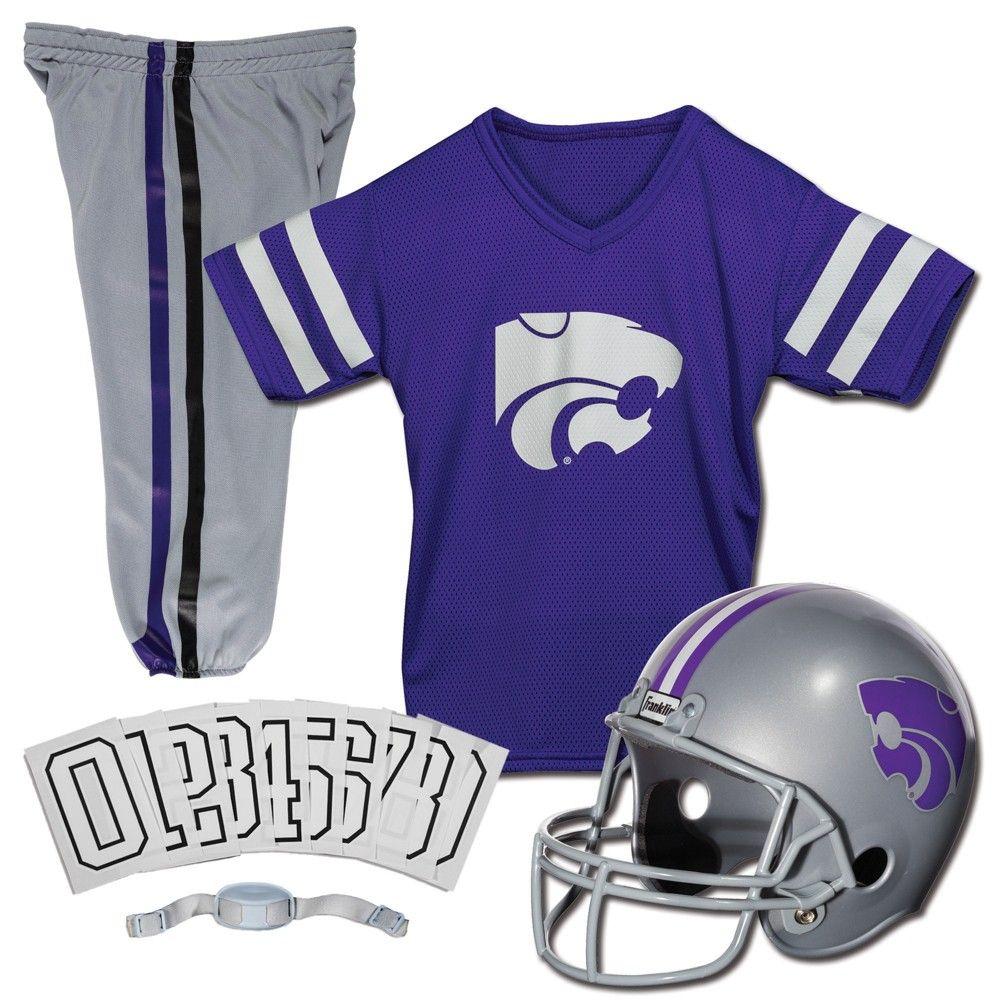 newest 6ac99 08287 NCAA Franklin Sports Medium Kansas State Wildcats Deluxe Uniform Set, Kids  Unisex, Arizona State Sun Devils