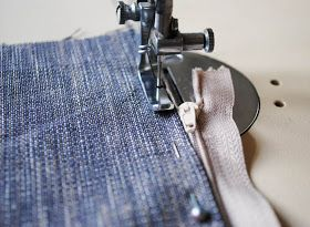 Today I will tell you how to sew a simple cushion cover with a neatly concealed zipper. I made my cushion quite large, as I needed it for ou...