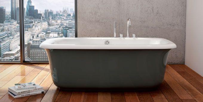 Maax Miles In Thunder Gray Dream Home Bathtub Soaker