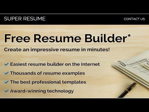 Best Free Online Resume Builders best websites on internet - free online resume builder