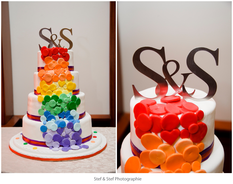 Wedding photography - Cool wedding cake !   #montreal #photographer #photo #photos #pictures #couple #love #story #ido #justmarried  Copyright - Stef & Stef Photographie