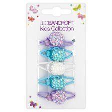 Leo Bancroft Kid Glitter Ball Ponios Multi 5 Pack