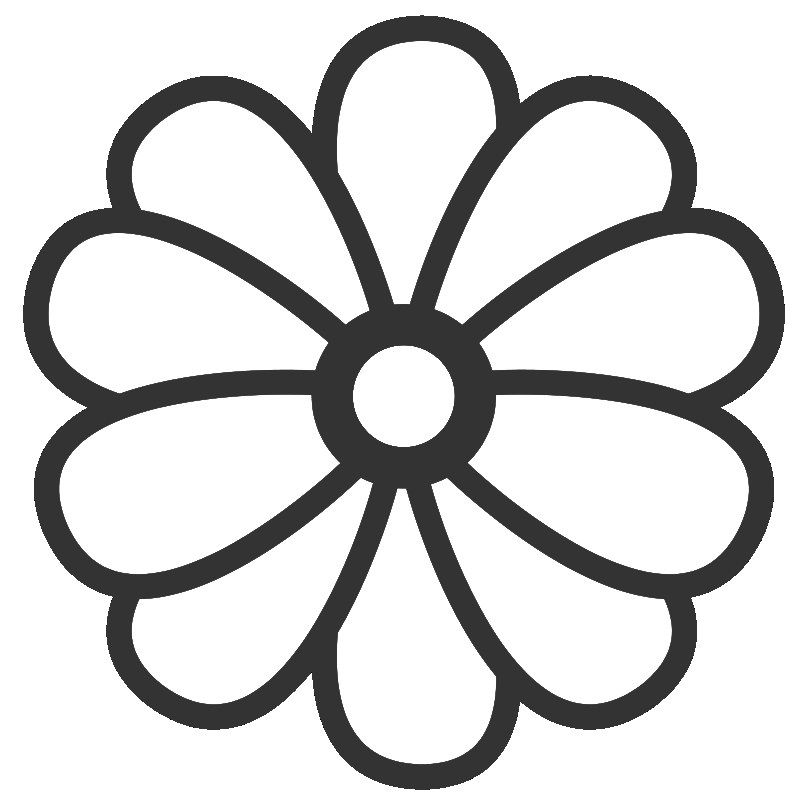 Cartoon Flower Coloring Page Hellocoloring Com Coloring Pages