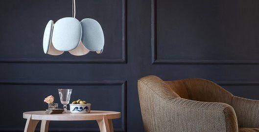 Bloemi suspended lamp by Mario Alessiani