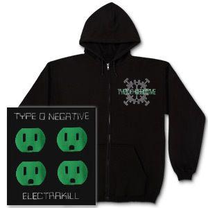 Type O Negative Electrakill Hoodie Type O Type O Negative Type