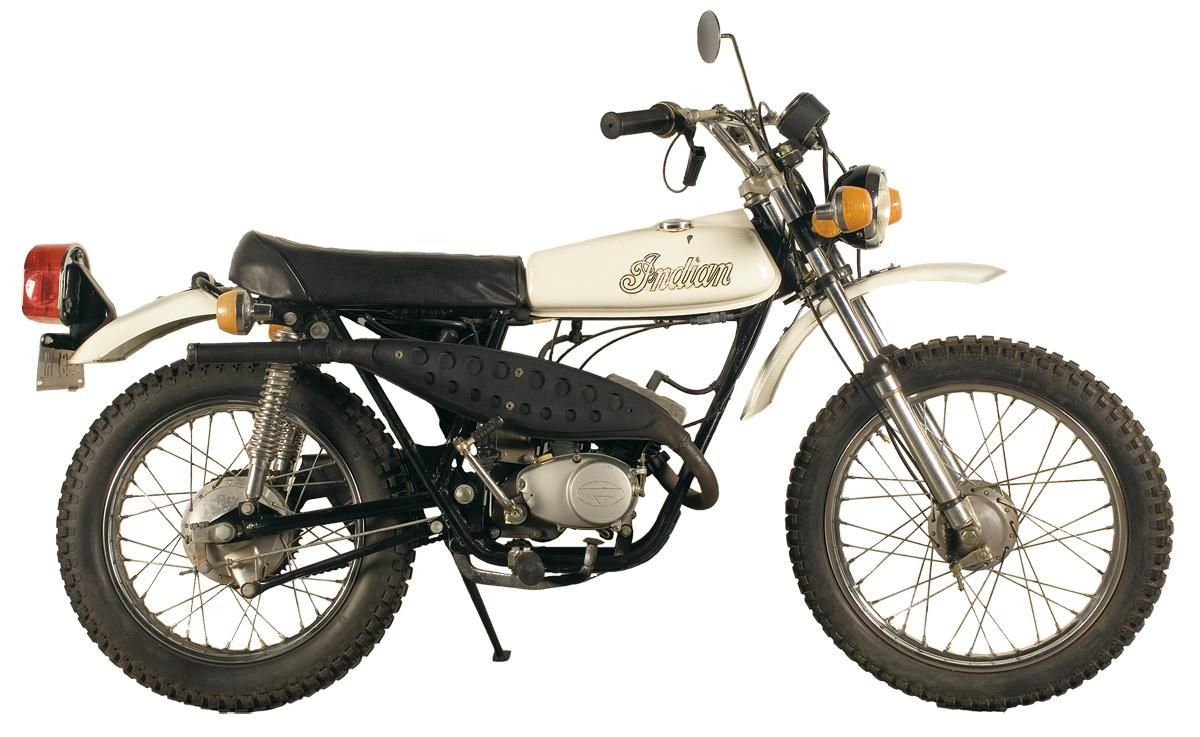 1973 Production Indian Dirt Bike With Images Cool Bikes Bike