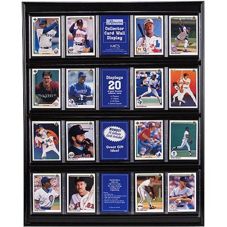 Black Trading Card Display Case Products In 2019 Baseball Card