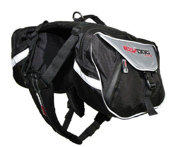 EzyDog Summit Dog Backpack, Large, Black/Charcoal:Amazon:Pet Supplies
