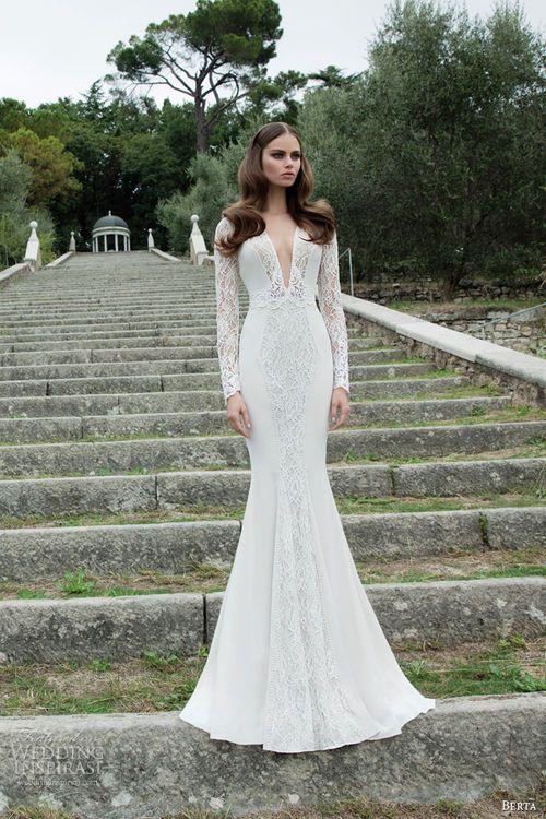 Berta Bridal Winter 2014 - Long Sleeve Wedding Dresses | The Dress ...
