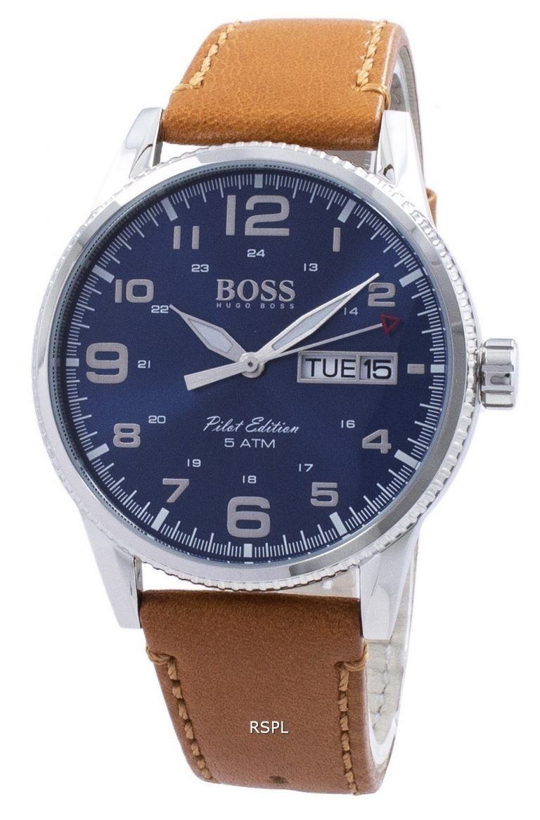 25223f60a Hugo Boss Pilot Vintage Edition Quartz 1513331 Men's Watch in 2019 ...