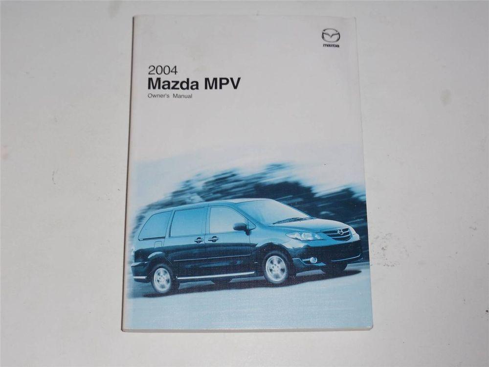2004 mazda mpv owners manual book owners manuals pinterest rh pinterest com 2004 Mazda Tribute Towing Capacity 2004 Mazda SUV