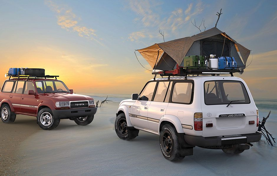Off Road Vehicle Accessories Roof Racks Camping Gear Front Runner Love The Slimline Ii Roof Rack Installed Accessories To Follow Autos Y Motores