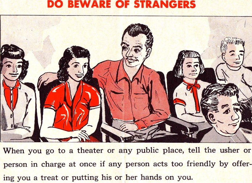 Safety Manual For Children Beware Of Strangers  Book Design