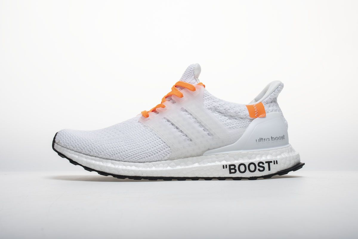 4edeaffb8 OFF WHITE X adidas Ultra Boost 4.0 All White Real Boost1