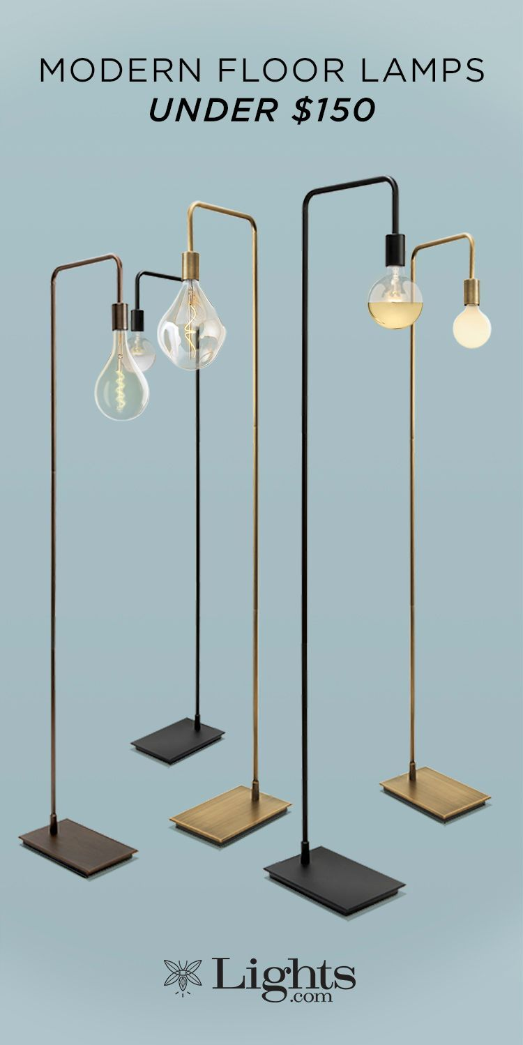 Simple Lamp Designs Reveal Exposed Edison Bulbs Casting A Comforting Glow Perfect For Bedrooms Living Rooms Dens Or O Lamps Living Room Lamp Diy Floor Lamp