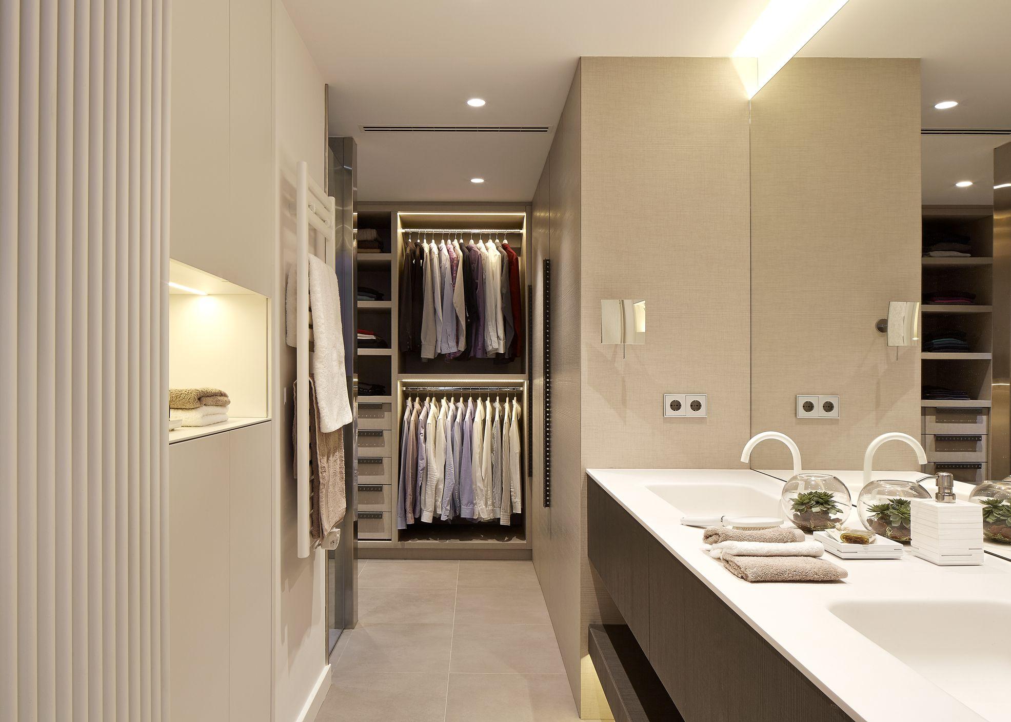 Molins interiors arquitectura interior interiorismo - Dormitorio principal ...