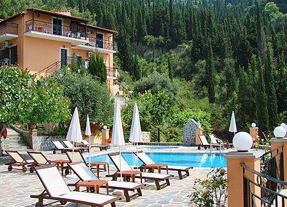 Dinas Paradise At Corfu Agios Gordios Greece It Is