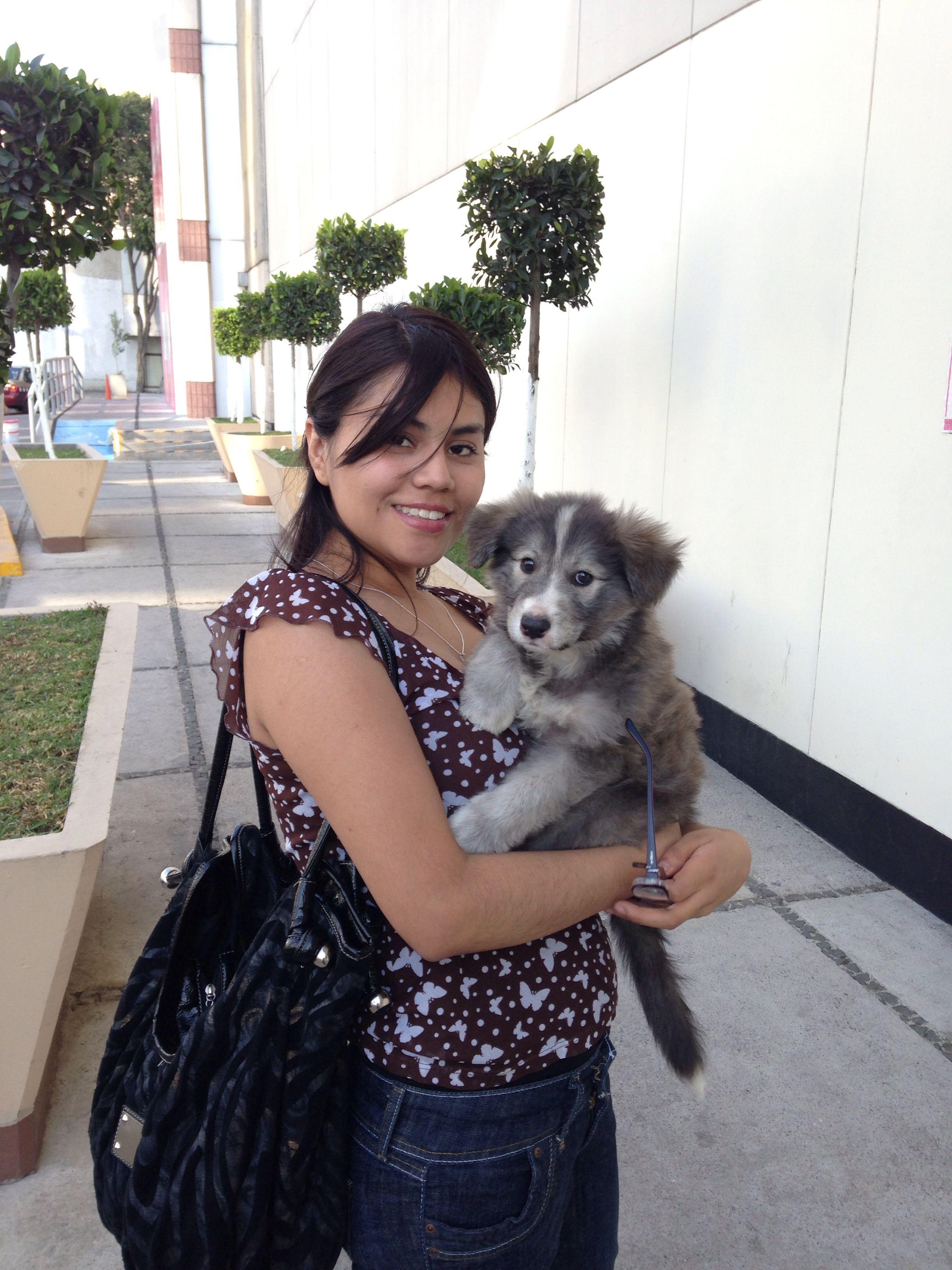 Primera foto con mamá