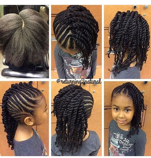 Hairstyles for little black girls - Hairstyles For Little Black Girls Natural Hair Style Braids