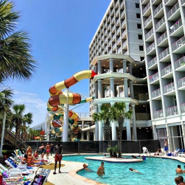 Crown Reef Resort With New Waterpark Myrtle Beach Resorts Sc