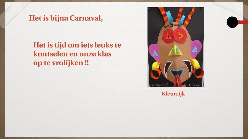 Carnaval Knutsel