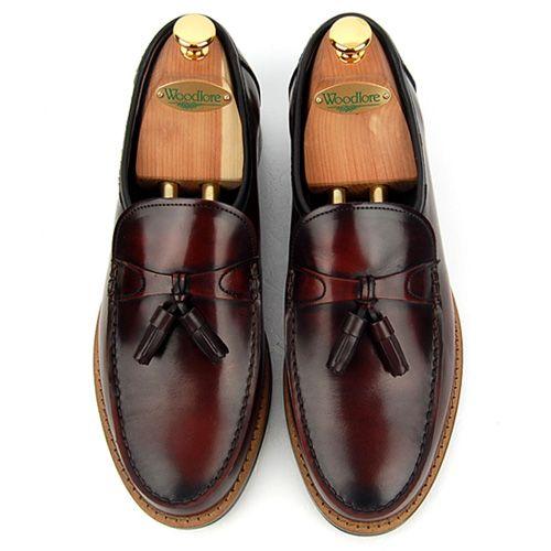 Brown Basic Slip On Loafers
