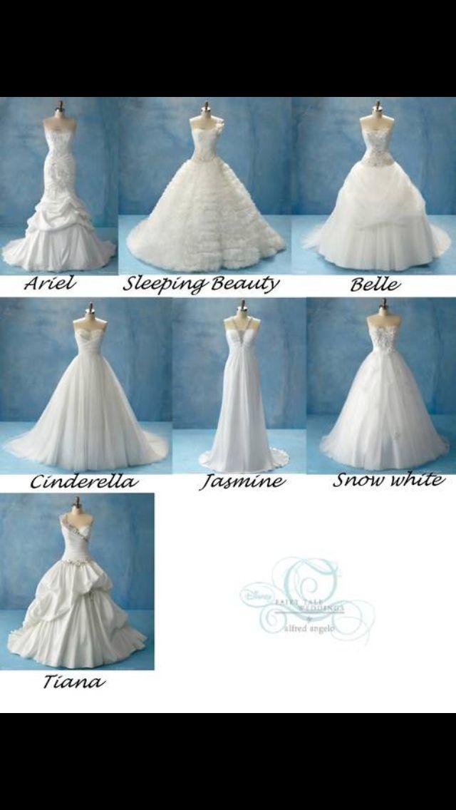 Disney princess dresses | Future Wedding | Pinterest | Princess ...