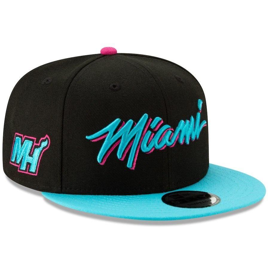 size 40 db2ba 3700b ... sale miami heat nba18 city series 9fifty snapback hat by new era e8a8d  0932d