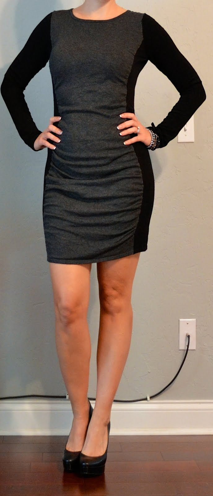 Sweater Dresses with Pumps