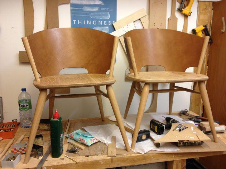 Hamylin Chair la chaise de cuir par Gareth Neal Meubles et Amour