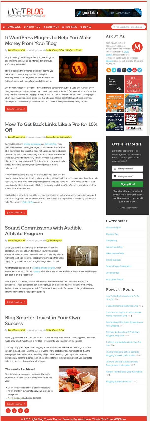 thesis themes for wordpress Quik is a modern, clean, and fully responsive magazine theme for thesis 2 and genesis with plenty of options grind a fully responsive thesis and genesis child theme from themedy.